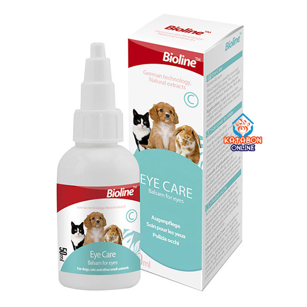Bioline Eye Care Drop For Cats & Dogs 50ml