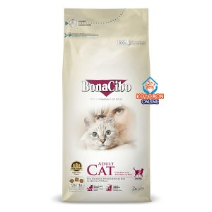 BonaCibo Super Premium Adult Dry Cat Food Chicken With Anchovy & Rice 2kg