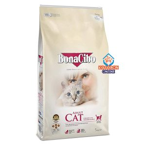 BonaCibo Super Premium Adult Dry Cat Food Chicken With Anchovy & Rice 5kg