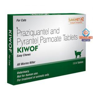 Cat Dewormer Chewable Tablet Kiwof 1pcs