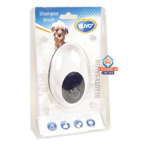 Duvo+ Shampoo Dispenser Brush For Washing Your Pet 01