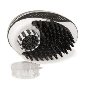 Duvo+ Shampoo Dispenser Brush For Washing Your Pet