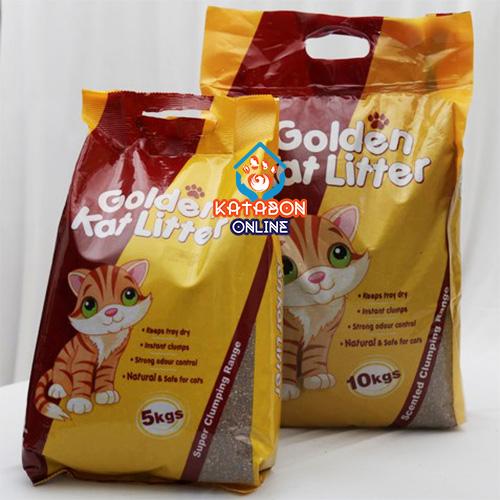 Golden Kat Cleapest Clumping Cat Litter Apple Flavour 5kg