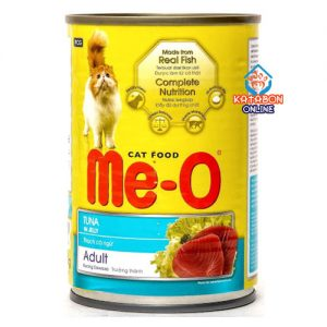 Me-O Can Adult Cat Wet Food Tuna In Jelly 400g