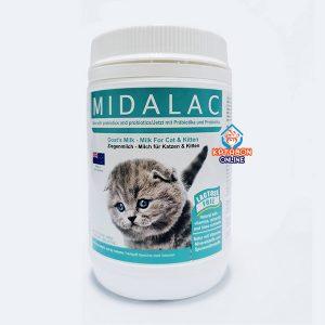 Midalac Goat's Milk Powder For Cat & Kitten 200g
