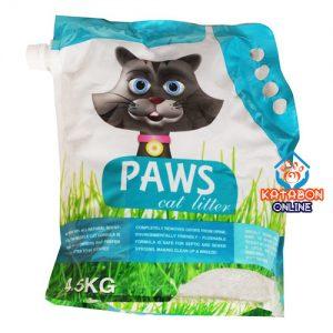 Paws Clamping Cat Litter Lemon Flavour 4.5kg