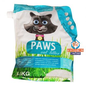 Paws Clamping Cat Litter Strawberry Flavour 4.5kg