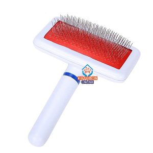 Pet Sheedding Grooming Comb Pin Brush For Dogs & Cats Small