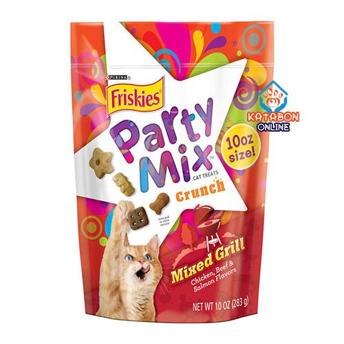 Purina Friskies Party Mix Cat Treat Mixed Grill 60g