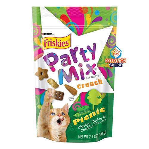 Purina Friskies Party Mix Cat Treat Picnic 60g