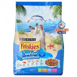 Purina Friskies Seafood Sensation Adult Dry Cat Food 3kg