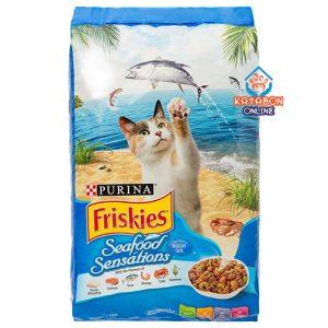Purina Friskies Seafood Sensation Adult Dry Cat Food 7kg