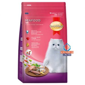 SmartHeart Adult Dry Cat Food Seafood Flavour 3kg