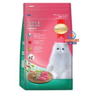 SmartHeart Adult Dry Cat Food Tuna & Shrimp Flavour 1.2kg