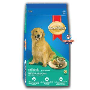 SmartHeart Adult Dry Dog Food Chicken & Liver Flavour 3kg