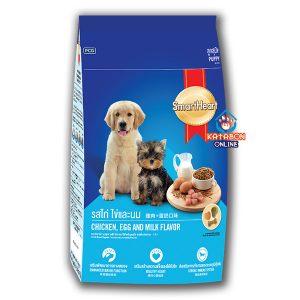 SmartHeart Puppy Dry Dog Food Chciken, Egg & Milk Flavour 3kg