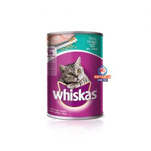 Whiskas Canned Wet Cat Food Tuna In Jelly 400g