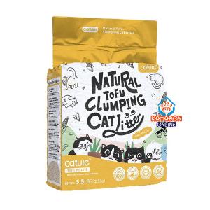 Cature Tofu Pellets Natural Tofu Clumping Cat Litter 5.5Lbs (2.5kg)