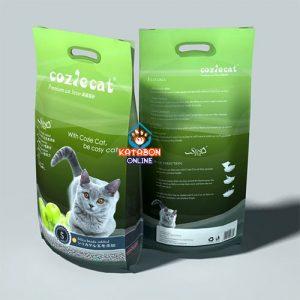 CoziCat Premium Clumping Cat Litter Apple Flavour 10Ltr
