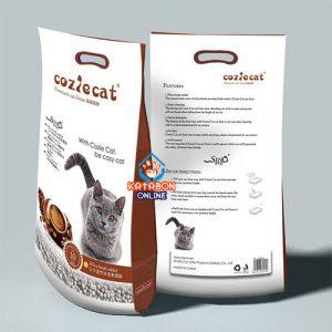 CoziCat Premium Clumping Cat Litter Coffee Flavour 10Ltr