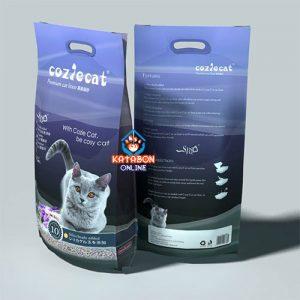 CoziCat Premium Clumping Cat Litter Lavander Flavour 10Ltr