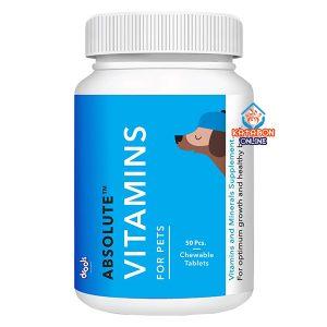 Drools Absolute Vitamin Tablet Dog Supplement 50Pcs
