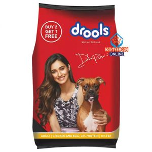 Drools Adult Dog Dry Food Chicken And Egg 400g (Buy 2 Get 1 Free)