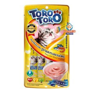 Toro Toro Lickable Cat Treat Tuna & Mixed Seafood 5 x 15g